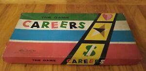 Careers Parker Brothers Vintage Board Game 1958