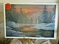 Lee Roberson REFLECTED GLORY 2002 Signed Ltd print The Great Smoky Mountains
