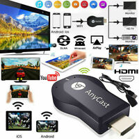 AnyCast M12 Plus WiFi Receiver Airplay Display Miracast HDMI TV DLNA 1080PJCA'QA