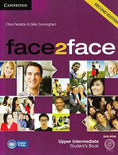 CAMBRIDGE face2face Upper-Intermediate SECOND EDITION Student's Book w DVD @NEW@