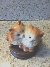 Vintage BESWICK POTTERY Ginger Persian Kittens England #1316 Made 1959-1963
