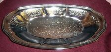 ANTIQUE/VINTAGE SILVER PLATED SERVING PLATTER EXCELLENT