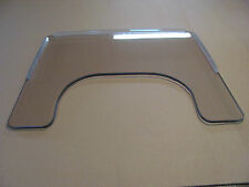 """Wheel Chair Tray, 3/8 Lexan, Size 26.75"""" W X 22.75"""", Rims Included, USA Made."""