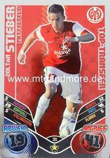 Match Attax 2011/2012 Zoltan Stieber #205 Top-Transfer