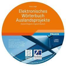 Elektronisches Wörterbuch Auslandsprojekte Deutsch-Englisch, Englisch-Deutsch...