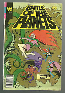 Battle of the Planets #4 Whitman comic Bronze age 1970's G/VG