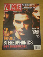 NME 2001 MAR 10 STEREOPHONICS LIL KIM BEENIE MAN MUSE