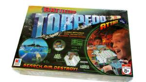 BATTLESHIP TORPEDO ATTACK Game  From Milton Bradley - Unopened