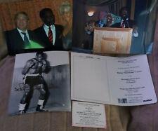 RUBIN HURRICANE CARTER RARE SIGNED PROFESSIONAL PHOTO COA &  PLENTY  FREE EXTRAS