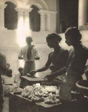 1940s Vintage Lionel Wendt Buddhist Temple Photo Gravure Print