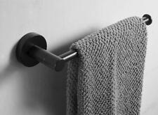 Wall Mounted Towel Rack Holder Bathroom Single Bar Rail Hanger Stainless Steel