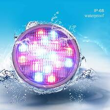 Romete Control 54w par56 Stainless RGB Led Underwater Swimming Pool Light lamp