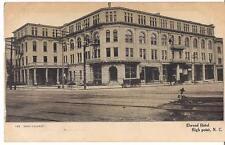 Elwood Hotel HIGH POINT NORTH CAROLINA NC Antique Hand Colored PM1907 Postcard