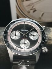 Gevril Tribeca Panda Limited Edition 37mm Paul Newman Daytona Swiss New Old Stoc