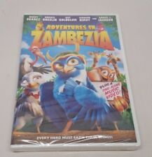 Adventures In Zambezia (DVD, 2013) Leonard Nemoy - BRAND NEW/FACTORY SEALED