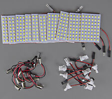 10x High Power 11w White T10 921 BA9S LED 48-SMD Panel Interior Dome Map LIght