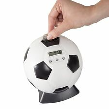Soccer Ball Digital Coin Counting Bank by TG™