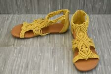 **ALDO Kids Eowoallan Sandal - Big Girl's Size 6 - Yellow NEW!!