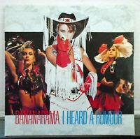 """Bananarama - I heard a rumour 7"""" vinyl 45 RPM single record 1987 NANA 13"""