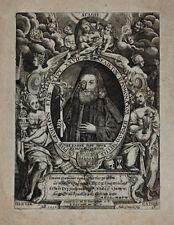 1619 graeca Greek Printing vanitas Benedicto de Nursia cobre Portrait gentzsch