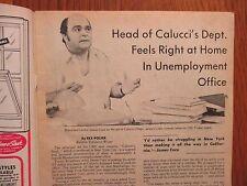 1973 Philadelphia Sunday Bulletin TV Time (JAMES COCO/THE BEATLES/CALUCCI'S DEPT
