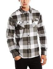 Vans Off The Wall Men's Box Flannel Plaid Long Sleeve Shirt