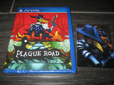 NEW Plague Road KICKSTARTER Exclusive Edition Limited Run Games LRG Sony VITA