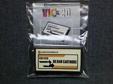 8K Ram Cartridge  Commodore Vic 20. Extension Mémoire