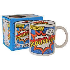 Scouse Lad Mug Liverpool Superman Mug Super Hero Coffee Tea Cup gift for him