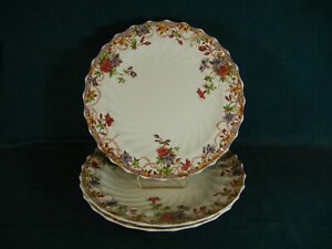 Copeland Spode Sydney Discounted Set of 3 Dinner Plates