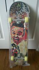 Wee man and monster skateboard deck w/ wheels