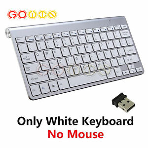 2.4GHz Slim Wireless Keyboard Mouse Combo Kit USB Receiver For PC Laptop A3GU