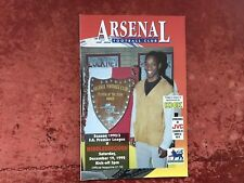 Arsenal v Middlesbrough 19 December 1992 Mint Condition Post Free