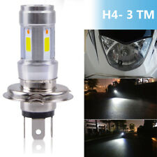 1* 36W H4-MT3 CREE COB Motorbike LED Headlight High-Low Beam Headlamp Angel eyes