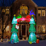 7.5 FT Inflatable Christmas Tree LED Lighted Outdoor Yard Holiday Decorations US