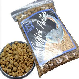 Tropical catfish pellets high protien 1,2,4,6,8, 11mm bottom feeding sinking l
