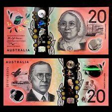 2019 AUSTRALIA 20 DOLLARS POLYMER P-NEW UNC> >MARY REIBEY SHIP JOHN FLYNN RADIO