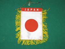 "JAPAN FLAG MINI BANNER 4""x6"" CAR WINDOW MIRROR JAPANESE"