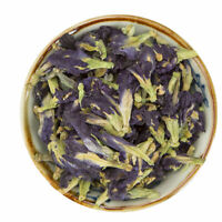 100g Thai Dried Butterfly Pea Herb Tea Natural Healthy Blue Pure Flower Herbal