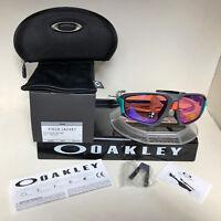 OAKLEY FIELD JACKET SUNGLASSES MATTE DARK GREY / PRIZM TRAIL OO9402-0464