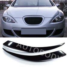 Fits Seat Leon MK2 2005-2012 Toledo MK 3 2004-2009 Headlight Eyebrows