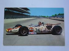 1966 Graham Hill American Red Ball Indianapolis 500 Postcard