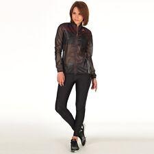 Adidas Womens Adizero Climaproof Running Jacket Black RRP £79.99