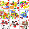 Cutting Fruit Vegetable Kitchen Pretend Play Children Kid Educational Toy Lots