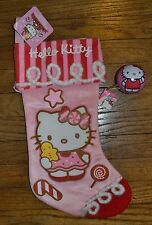 Hello Kitty Stocking 2013 Edition Hard To Find & matching Puzzle Ball