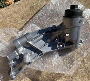 2009-18 GM Chevrolet Pontiac Engine Oil Cooler Housing Assembly 25199751 New OEM
