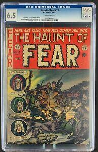 Haunt Of Fear #13 CGC 6.5 EC Comics 1952 Golden Age Horror Scifi & Crime Ghastly