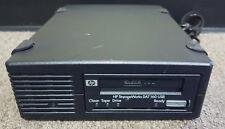 HP STORAGEWORKS Q1581A DAT160 USB BRSLA-05U2-AC EXTERNAL TAPE DRIVE
