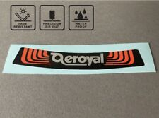 Aeroyal Old School BMX 80's Seat Decal Sticker Saddle