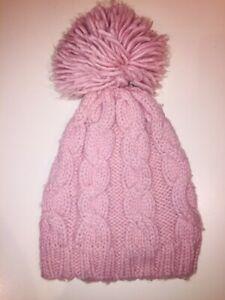 Baby GAP Toddler Girls Size S/M Willow Pink Knit Hat